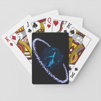 カードを遊ぶ氷の惑星 トランプ