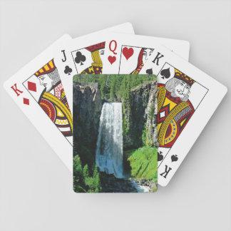 カードを遊ぶ滝 トランプ
