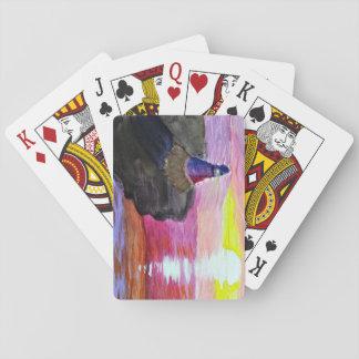 カードを遊ぶ灯台 トランプ