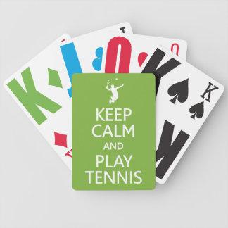 カードを遊ぶ穏やかな及び演劇のテニスカスタムな色保って下さい バイスクルトランプ