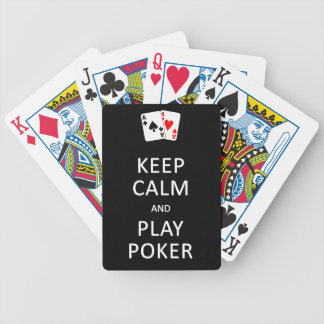 カードを遊ぶ穏やかな及び演劇のトランプのポーカー保って下さい バイスクルトランプ