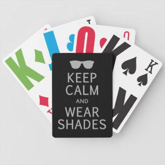 カードを遊ぶ穏やかな及び衣服の陰のカスタム保って下さい バイスクルトランプ