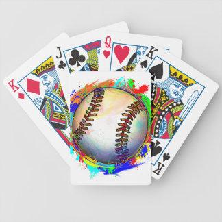 カードを遊ぶ野球Design2 バイスクルトランプ