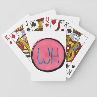 カードを遊ぶ風変わりな幸福 トランプ