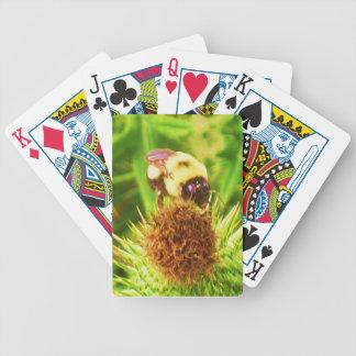 カードを遊ぶ《昆虫》マルハナバチ バイスクルトランプ