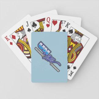 """カードを遊ぶ""""解かれた""""習慣 トランプ"""