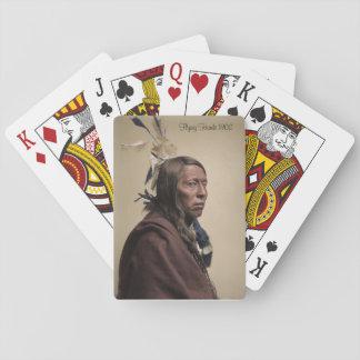 """カードを遊ぶ""""飛行タカ"""" トランプ"""