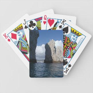 カードを遊ぶCabo San Lucas バイスクルトランプ