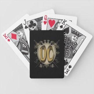 カードを遊ぶDCのロゴ バイスクルトランプ