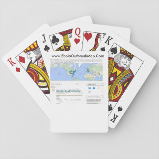 カードを遊ぶebola トランプ