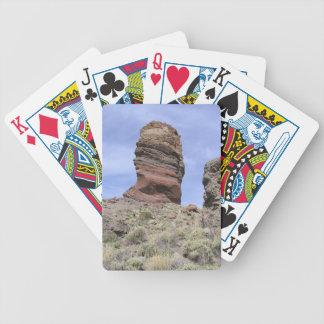 カードを遊ぶEl Teideのカスタム バイスクルトランプ