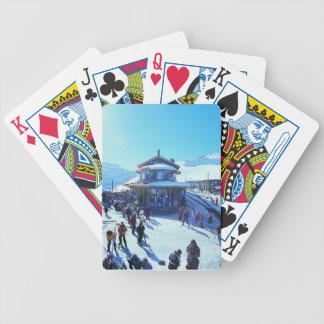 カードを遊ぶGrindelwald Grund バイスクルトランプ