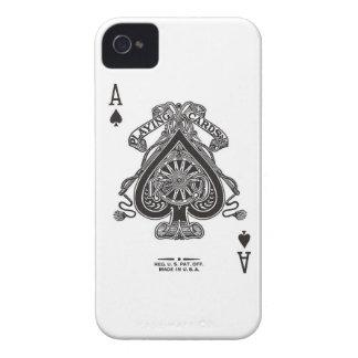 カードを遊ぶiPhoneの場合 Case-Mate iPhone 4 ケース