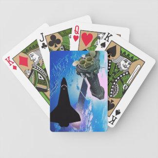 カードを遊ぶNASAのスペースシャトル バイスクルトランプ