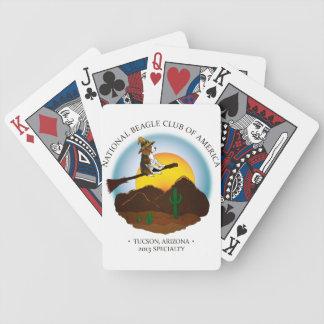 カードを遊ぶNBC バイスクルトランプ