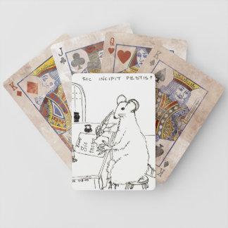 カードを遊ぶSic Incipit Pestis バイスクルトランプ