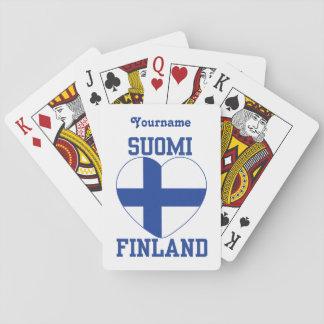 カードを遊ぶSUOMIフィンランドの習慣 トランプ