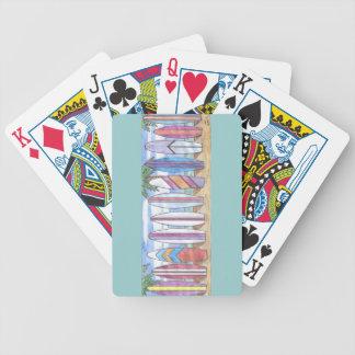 カードを遊ぶSURFBOARDS-1 バイスクルトランプ