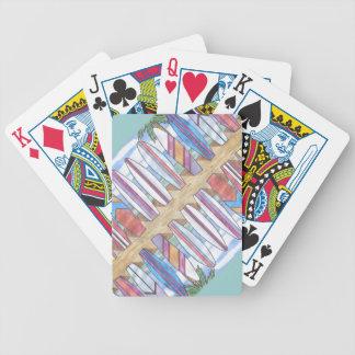 カードを遊ぶSURFBOARDS-3 バイスクルトランプ