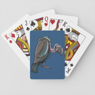 カードを遊んでいるハゲタカ トランプ