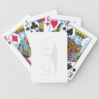 カードを遊んでいるLe Fin バイスクルトランプ