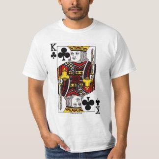 カードを遊んでいるOf Clubs王 Tシャツ