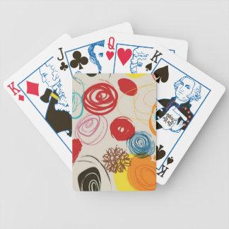 カードを、レトロ選挙の版遊ぶことディスコ バイスクルトランプ