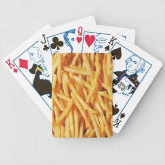カードを、選挙の版遊ぶこと、フライドポテト バイスクルトランプ
