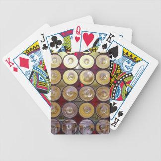 カードをpalyingガラス円 バイスクルトランプ