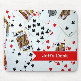 カードゲームを遊ぶこと マウスパッド
