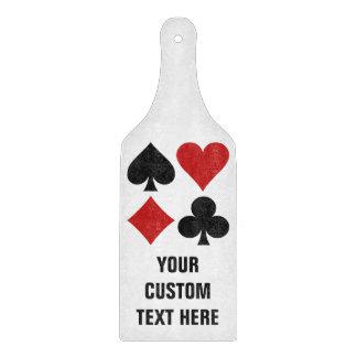 カードプレーヤーのカスタムなまな板