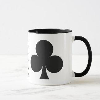 カードプレーヤーのカスタムなモノグラムのマグ-クラブ マグカップ