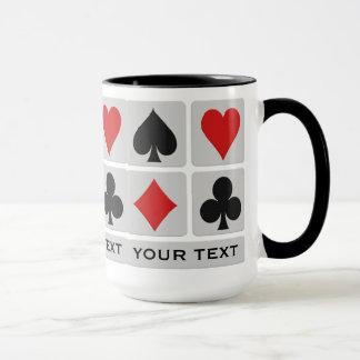 カードプレーヤーのカスタムのマグ マグカップ