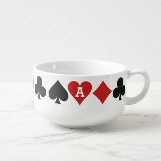 カードプレーヤーカスタムなスープマグ スープマグカップ