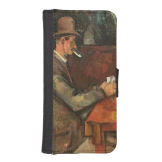 カードプレーヤー、1893-96 2 iPhoneSE/5/5sウォレットケース
