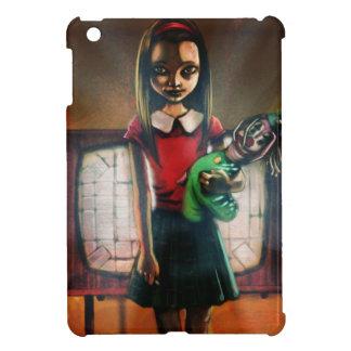カード女の子をテストして下さい iPad MINIケース