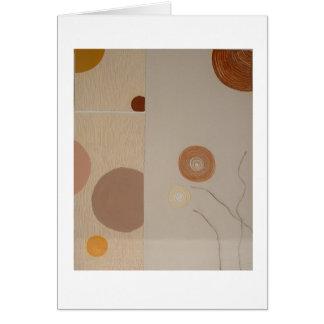 カード抽象美術の質 カード