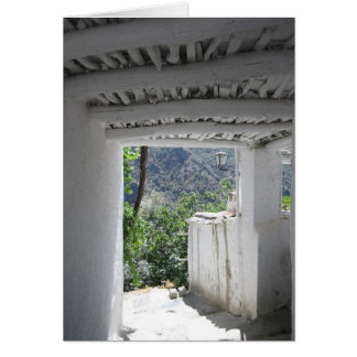 カード: アンダルーシアの白い村 カード