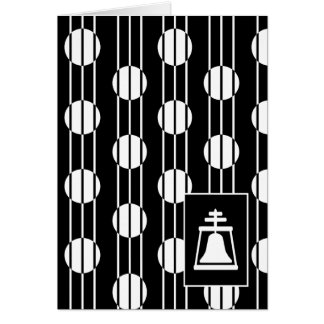 カード-アールデコのRaincrossのデザイン カード