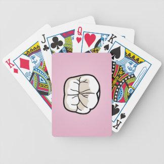 カード[ピンク]遊ぶ歯 バイスクルトランプ