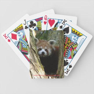 カード-レッサーパンダ--を遊びます バイスクルトランプ