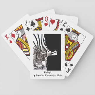 カード「上昇の」プリントを遊びます トランプ