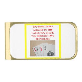 カード 金色 マネークリップ