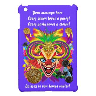 カーニバルのピエロの重要な意見のヒント iPad MINIカバー