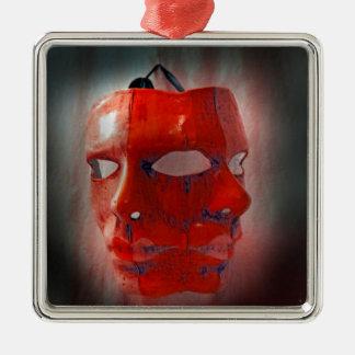 カーニバルのマスク メタルオーナメント