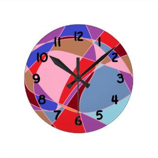 カーニバルの中型の柱時計 ラウンド壁時計