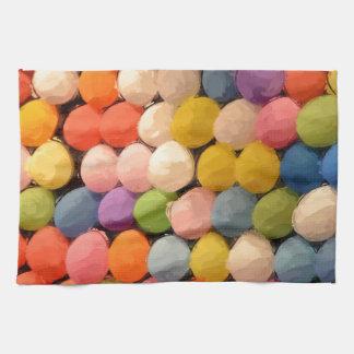 カーニバルの気球 キッチンタオル