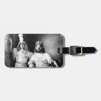 カーニバルの王及び王子 ラゲッジタグ