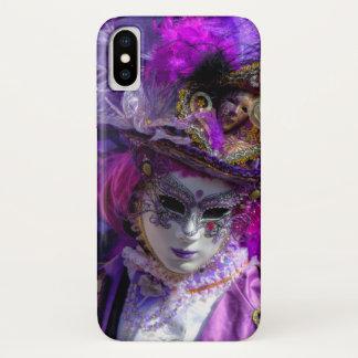 カーニバルの衣裳、ベニス iPhone X ケース