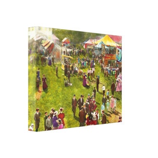 カーニバル-カーニバル1900年の夏 キャンバスプリント